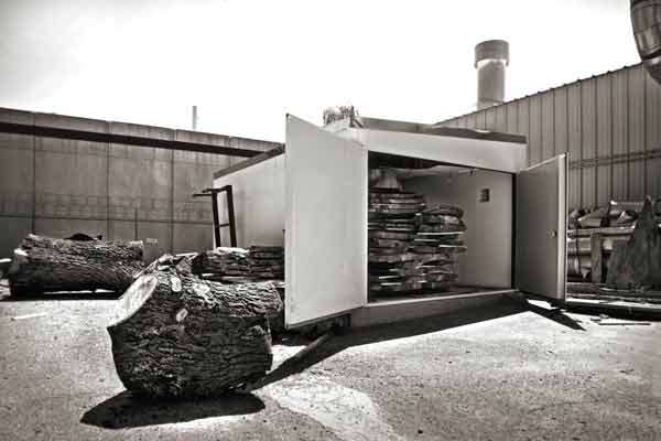 Menlo Hardwood Wood Kiln
